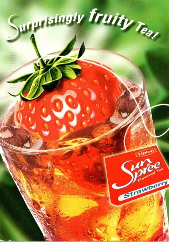 Advertising Lipton Sun Spree Ice Tea 2001