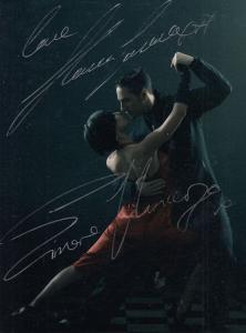 Lilia Kopylova Darren Bennett Strictly Come Dancing Hand Signed Photo