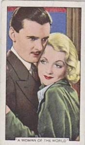Gallaher Cigarette Card Shots From Famous Films No 47 A Woman Of The World