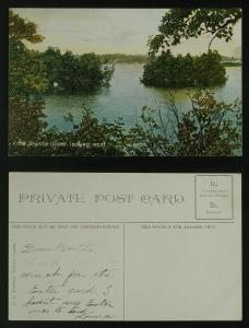 From Granite Island Thousand Islands c 1910
