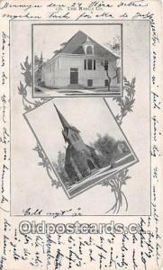 Churches Vintage Postcard Berwyn, IL, USA Vintage Postcard Swedish Bethel Church