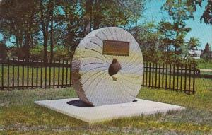 The Old Millstone In Haverhill Massachusetts