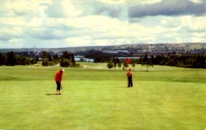 Canada - Nova Scotia, New Glasgow. Golfing