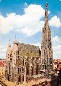 Vienna Austria St Stephen's Catheral Vienna St Stephen's Catheral
