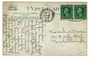 Kansas City, Missouri to Marshalltown, Georgia, 1918, Live Stock Exchange