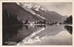 France Chamonix et le Mont Blanc Real Photo