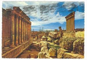 General View Of Ruins Of Baalbeck, Lebanon, Asia, 1950-1970s