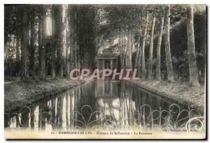 Old Postcard Dammarie Les Lys Bellombre Chateau De La Fontaine