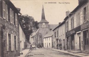 La Courtine , Creuse department , Limousin region , France. 00-10s ; Rue de l...