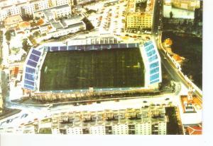 Postal 025637 : Estadio Alfonso Morube club A.D. Ceuta