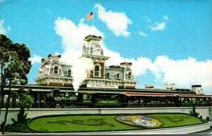 Florida Walt Disney World Narrow Gauge Steam Train