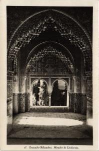 CPA Granada Alhambra, Mirador de Lindaraja SPAIN (743878)