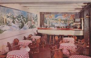 Interior of Le Bistro at the Laurentide Inn, resort at Ste. Agathe des Mont...