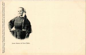 CPA Jeune femme de Pont-l'Abbe (252744)