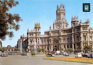 Spain Old Vintage Antique Post Card Palacio de Communicaciones y La Cibeles M...
