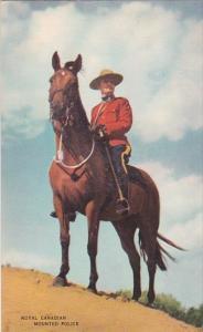 Policeman On Horseback Royal Canadian Mounted Police