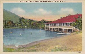 Bathing at Lake Tomahawk, Black Mountain, North Carolina, 30-40s