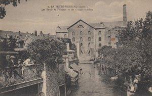 LA FERTE-BERNARD (Sarthe) , France, 1900-10s ; Les Bords de l'Huisne et les G...