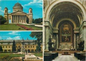 Hungary Esztergom basilica souvenir Postcard