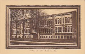 Canada Alexandra School London Ontario Tuck