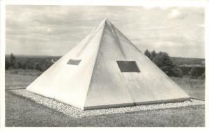Bow NH~Pyramid Monument~Mary Baker Eddy's Birthplace~1940s RPPC
