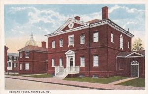 Maryland Baltimore Howard House Curteich
