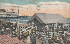 ATLANTIC CITY , New Jersey , 1916; Beach Hospital Tent