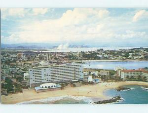 Unused Pre-1980 HOTEL SCENE San Juan Puerto Rico PR B0435