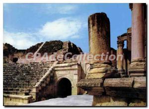 Postcard Modern Part Of Amphitheater Of Jerash