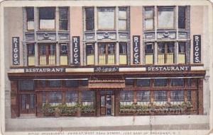 New York City Riggs Restaurant