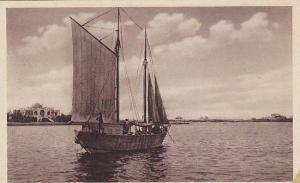 Sailboat, Nel Porto, Eritrea, Africa, 1910-1930s