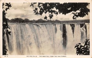 uk42325 victoria falls the main fall from the rain forest Zimbabwe Zambia