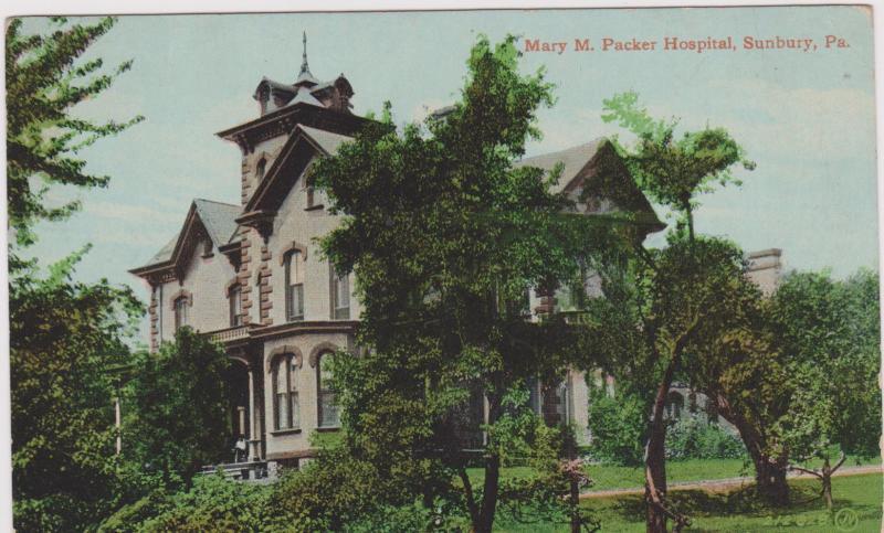 Mary M. Parker Hospital, SUNBURY, Pennsylvania, PU-1911