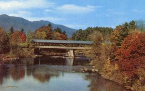 NH - Conway. Saco River Covered Bridge