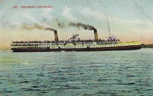 Steamer Chippewa, Ontario Canada, 1900-1910s