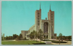 Baltimore Maryland~Cathedral of Mary our Queen~Catholic Church~c1950~Postcard