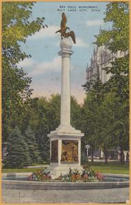Salt Lake City, Utah-Sea Gull Monument - 1957