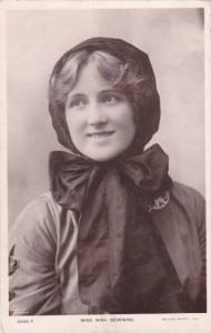 RP; Theatre Actress Miss Nina Sevening, PU-1909