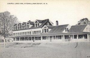FITZWILLIAM DEPOT, New Hampshire, 1900-10s; Laurel Lake Inn
