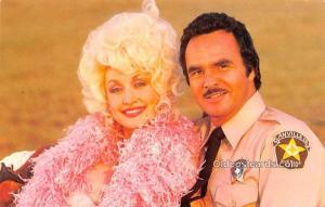 Dolly Parton & Burt Reynolds Movie Star Actor Actress Film Star Postcard, Old...