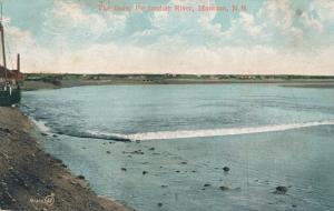 The Bore on Petitcodiac River - Moncton NB, New Brunswick, Canada - pm 1908