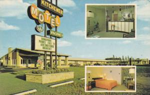 Kitchener Motel , KITCHENER, Ontario , Canada , 50-60s