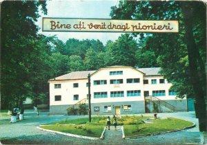 Postkarte Cluj-Napoca Tabara de pioneri Leghia
