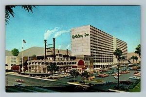 Las Vegas NV- Nevada, Holiday Inn, Outside of Building, Chrome Postcard