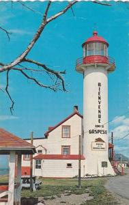 LIGHTHOUSE, The Lighthouse Of Matane Welcomes You In Gaspesia, Quebec, Canada...
