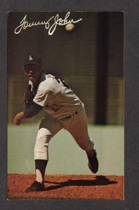 CA Tommy John Baseball Player Los Angeles Dodgers Team California Postcard