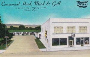 VERNAL , Utah , 30-40s ; Commercial Hotel, Motel & Grill