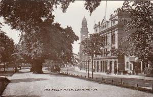 England Leamington The Holly Walk Real Photo