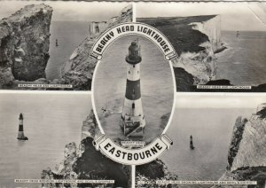 RP: EASTBOURNE , England , 1940-50s ; Beachy Head LIGHTHOUSE