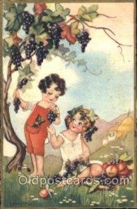 Series 319 Sofia Chiostri, (Fofi) (Italy) Artist Signed 1931 very light wear ...